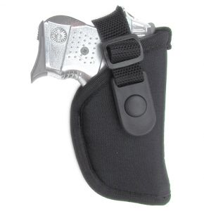 Gunmate Black Hip Holster Size 00 Fits Small Framed Pistols