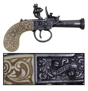 1798 English Non-Firing Flintlock Antiqued Gray