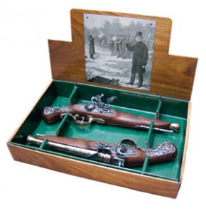 British Flintlock Brass Duel Non-Firing Replicas