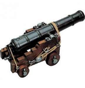 British Naval Cannon Miniature Replica