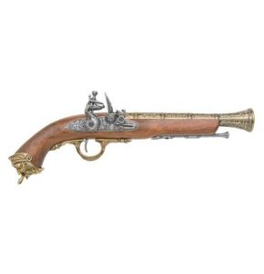 Pirate Brass Flintlock Non-Firing Replica