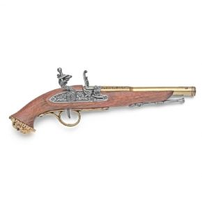 18th Century Pirate Flintlock Non-Firing Brass