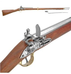 British Brown Bess Musket Non-Firing Replica