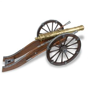 18th Century French Louis XIV Large Cannon Replica