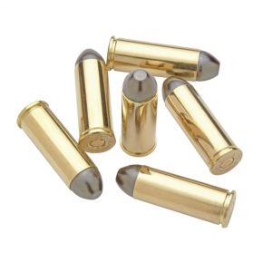 Non-Firing Brass 45 Cal Bullet Replicas Set of 6