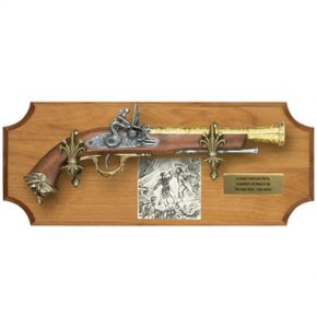 Pirate Framed Set with Non-Firing Flintlock