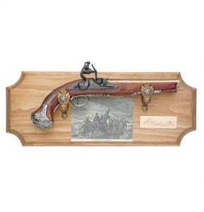 George Washington Set with Non-Firing Flintlock