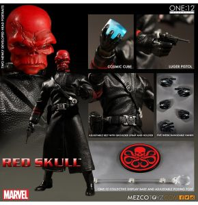 One:12 Collective Captain America Red Skull Action Figure