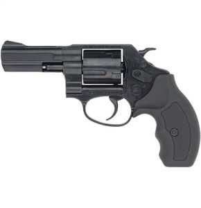 Bruni Black 38 3In Barrel Top-Firing Blank Gun