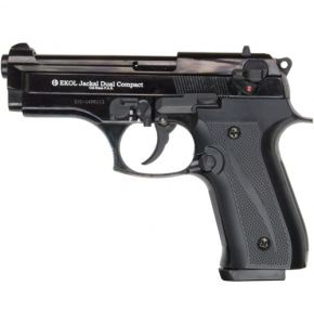 Jackal Dual Compact Full Automatic Black Blank Top Firing Gun