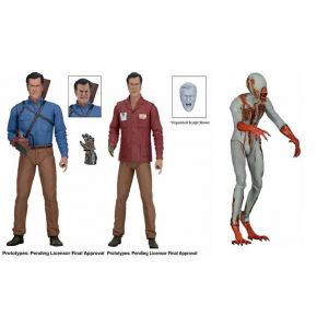 Ash vs Evil Dead Series 1 Action Figure Set