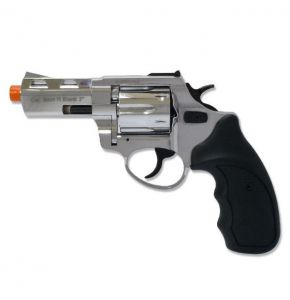 RX2 3in Barrel Chrome Front Firing Blank Revolver