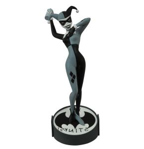 SDCC 2015 Femme Fatales Harley Quinn B&W Statue
