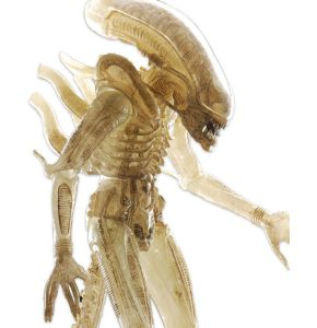 Alien 1/4 Scale Translucent Prototype Suit Concept Action Figure