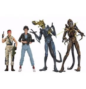 Aliens 30th Anniversary Series 12 Action Figures Set of 4