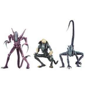 Alien vs Predator Arcade Appearance Aliens Action Figure Set of 3