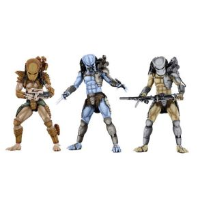 Alien vs Predator Arcade Appearance Predator Action Figure Set of 3