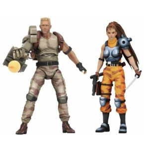 Alien vs Predator Dutch & Lin Arcade Action Figure 2 Pack