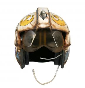 ANOVOS Star Wars TFA Rey Salvaged X-Wing Pilot Helmet