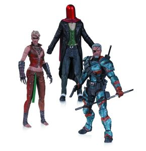 Arkham Origins Deathstroke, Joker, Copperhead Figure 3 Pack