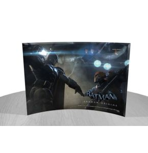 Batman Arkham Origins StarFire Prints Curved Glass