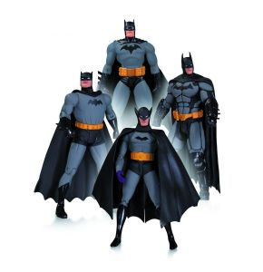 Batman 75th Anniversary Action Figure 4 pack Set 1
