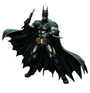 Batman Arkham Asylum Armored Play Arts Kai Action Figure