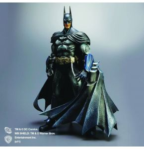 Batman Arkham Asylum Play Arts Kai Batman Action Figure