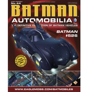 Batman Auto Fig Mag #44 Batman #526 Batmobile