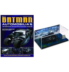 Batman Auto Coll Batman Begins #3 Batmobile Tumbler