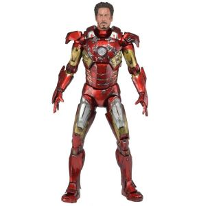 Iron Man 3 Battle Damaged 1/4 Scale Action Figure