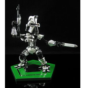 Little Frakkin' Toasters Chrome Centurion Cylon Maquette