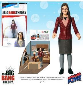 The Big Bang Theory 3.75in Amy Farrah Fowler Figure