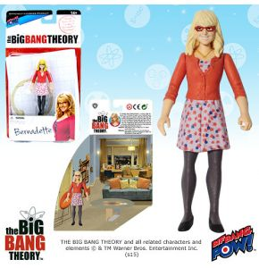 The Big Bang Theory 3.75in Bernadette Figure