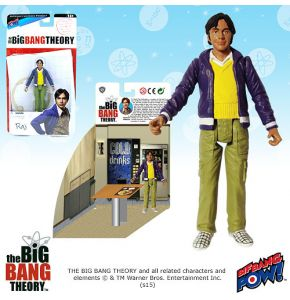 The Big Bang Theory 3.75in Raj Figure