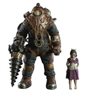 Bioshock 2 Subject Delta and Little Sister 1/6 Scale Figure