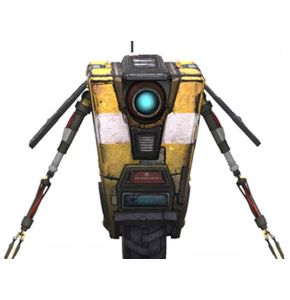 Borderlands 2 Claptrap Deluxe Action Figure