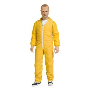 Breaking Bad Jesse Pinkman Yellow Hazmat Suit Action Figure