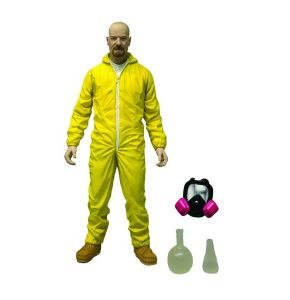 Breaking Bad Walter White Yellow Hazmat Action Figure