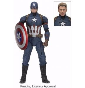 Captain America Civil War Captain America ¼ Scale Figure