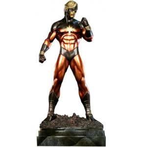 Captain Marvel Faux Bronze Exclusive Statue