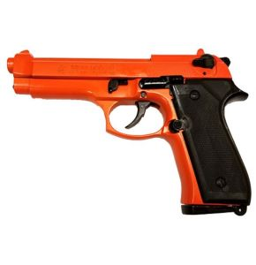 Replica M92 Semi Automatic 9mm Blank Gun Orange Finish