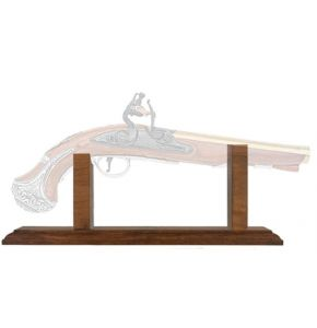 Display Stand For Flintlock Pistols