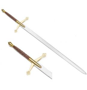 Twisted Handle Scottish Claymore Sword