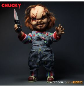 Child's Play Talking Mega Scale Scarred Chucky Doll