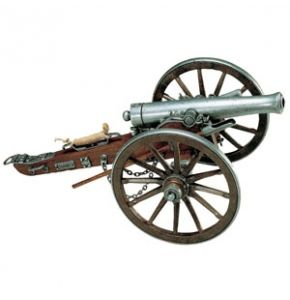 "Civil War ""12 Pounder"" Cannon 1861 Replica"