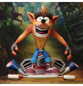 Crash Bandicoot Deluxe Action Figure with Hoverboard
