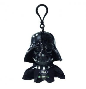 Star Wars Darth Vader 4in Talking Clip-On Plush