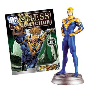 Dc Chess Fig Coll Mag #61 Booster Gold White Pawn