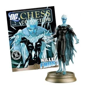 DC Chess Fig Coll Mag #62 Killer Frost Black Pawn
